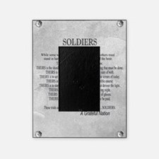 Soldiers Picture Frame