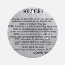 Soldiers Round Ornament