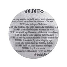 """Soldiers 3.5"""" Button"""