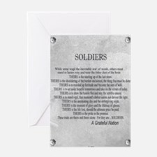 Soldiers Greeting Card