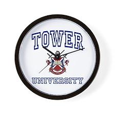 TOWER University Wall Clock