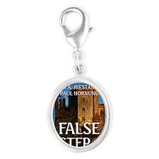 False Step Silver Oval Charm