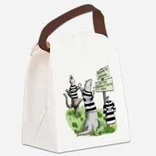 CA Ferrets Canvas Lunch Bag
