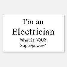 electrician Sticker (Rectangle)
