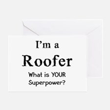 roofer Greeting Card