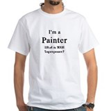 Painter Mens White T-shirts