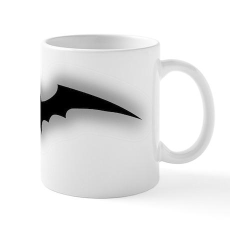 Glow Bat BW Mug