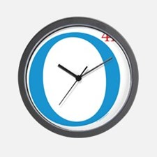 O44+4: Re-Elect Obama - Logo Yard Sign Wall Clock