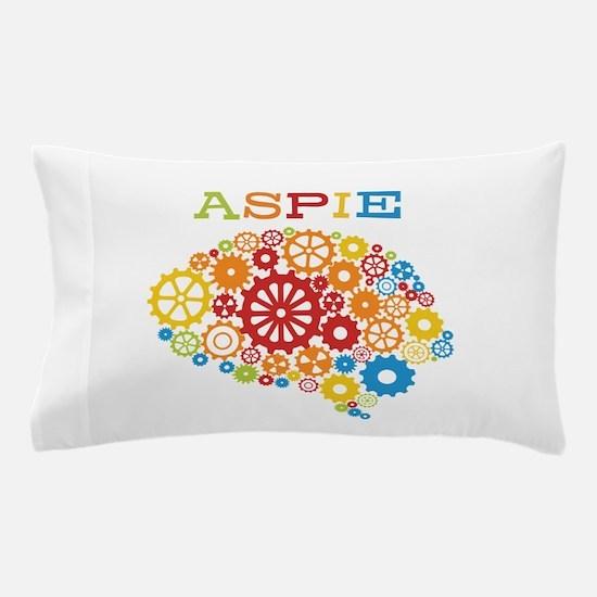 Aspie Brain Autism Pillow Case