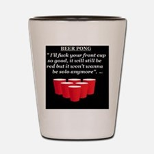 sex and sports Shot Glass
