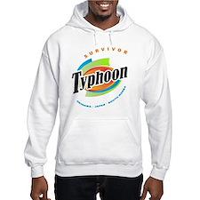 Typhoon Sanba Survivor Hoodie