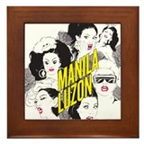 Manila luzon Framed Tiles