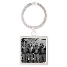 Tuskegee Airmen Square Keychain