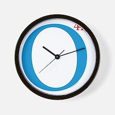 O44+4 Re-Elect Obama Mylar Balloon Wall Clock