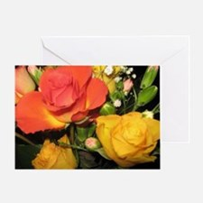 Summer Roses Greeting Card