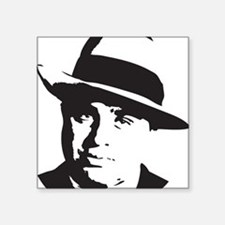 "Al Capone Square Sticker 3"" x 3"""