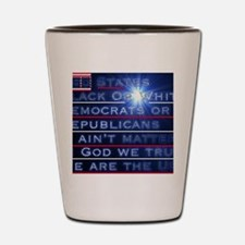 We are the USA Shot Glass