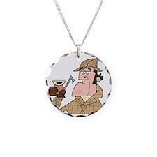 Sherlock - Headshot Necklace
