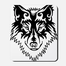 Tribal Wolf 2 Mousepad