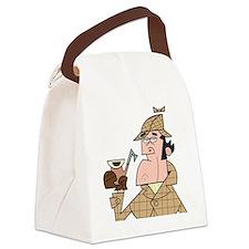 Sherlock - Headshot Canvas Lunch Bag