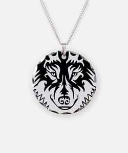 Tribal Wolf 2 Necklace