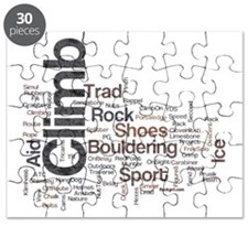 Climbing Words Puzzle