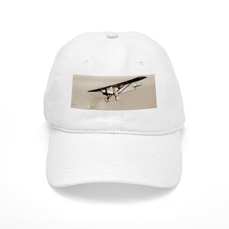Lindbergh's Spirit of St Louis airplane Cap