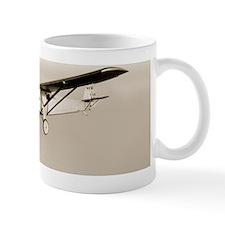 Lindbergh's Spirit of St Louis airplane Small Mug