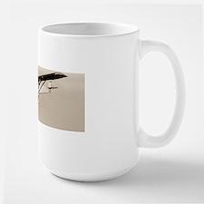 Lindbergh's Spirit of St Louis airplane Large Mug