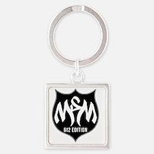 MSM Shield - 612 Edition Square Keychain