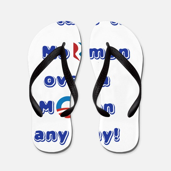 I'll take the Mormon over a Moron any d Flip Flops