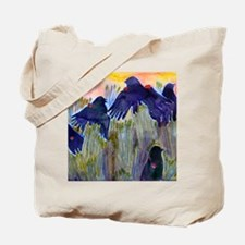 Red Winged Blackbirds Tote Bag
