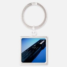 Lithium-ion battery Square Keychain