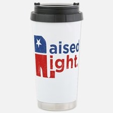 Raised Right Thermos Mug