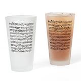 Music Pint Glasses