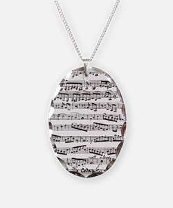 Vintage music Necklace