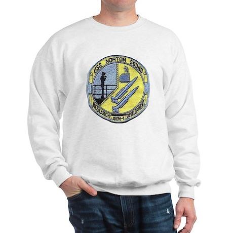 uss norton sound patch transparent Sweatshirt