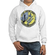 uss norton sound patch transpare Hoodie