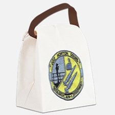 uss norton sound patch transparen Canvas Lunch Bag