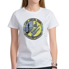 uss norton sound patch transparent Tee