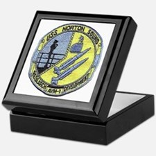 uss norton sound patch transparent Keepsake Box