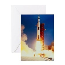 Launch of Apollo 11 Greeting Card