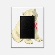 Breast Cancer Awarness Polar Bear Picture Frame