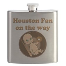 Houston Fan on the Way Flask