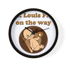 St. Louis Fan on the way Wall Clock