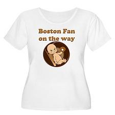 Boston Fan on T-Shirt