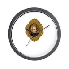 Andrew Jackson White Wall Clock