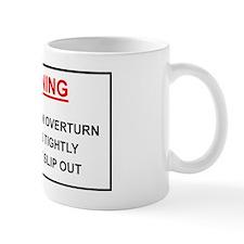 Warning: In case of overturn hold hips  Mug