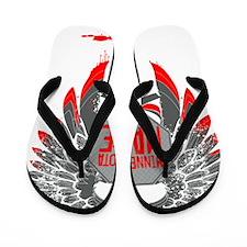 Red Wings Flip Flops