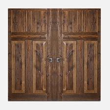 Wooden Door Tile Coaster